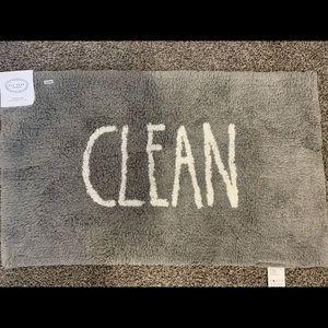 Rae Dunn - Clean -  Bath Mat - NWT